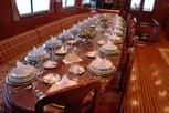 Delicious food aboard the Liveaboard MY Blue Fin