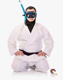 ninja scuba diver